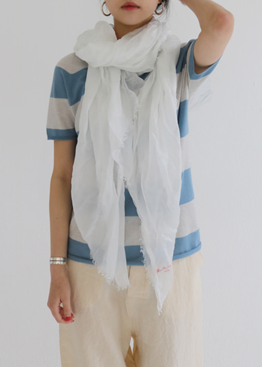 SILK SCARF - 3color