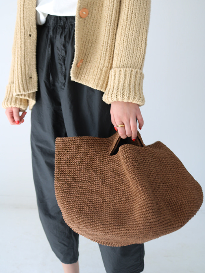 A5118Y147   BOWL BAG    BROWN