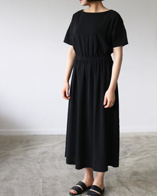 WOVEN COTTON DRESS