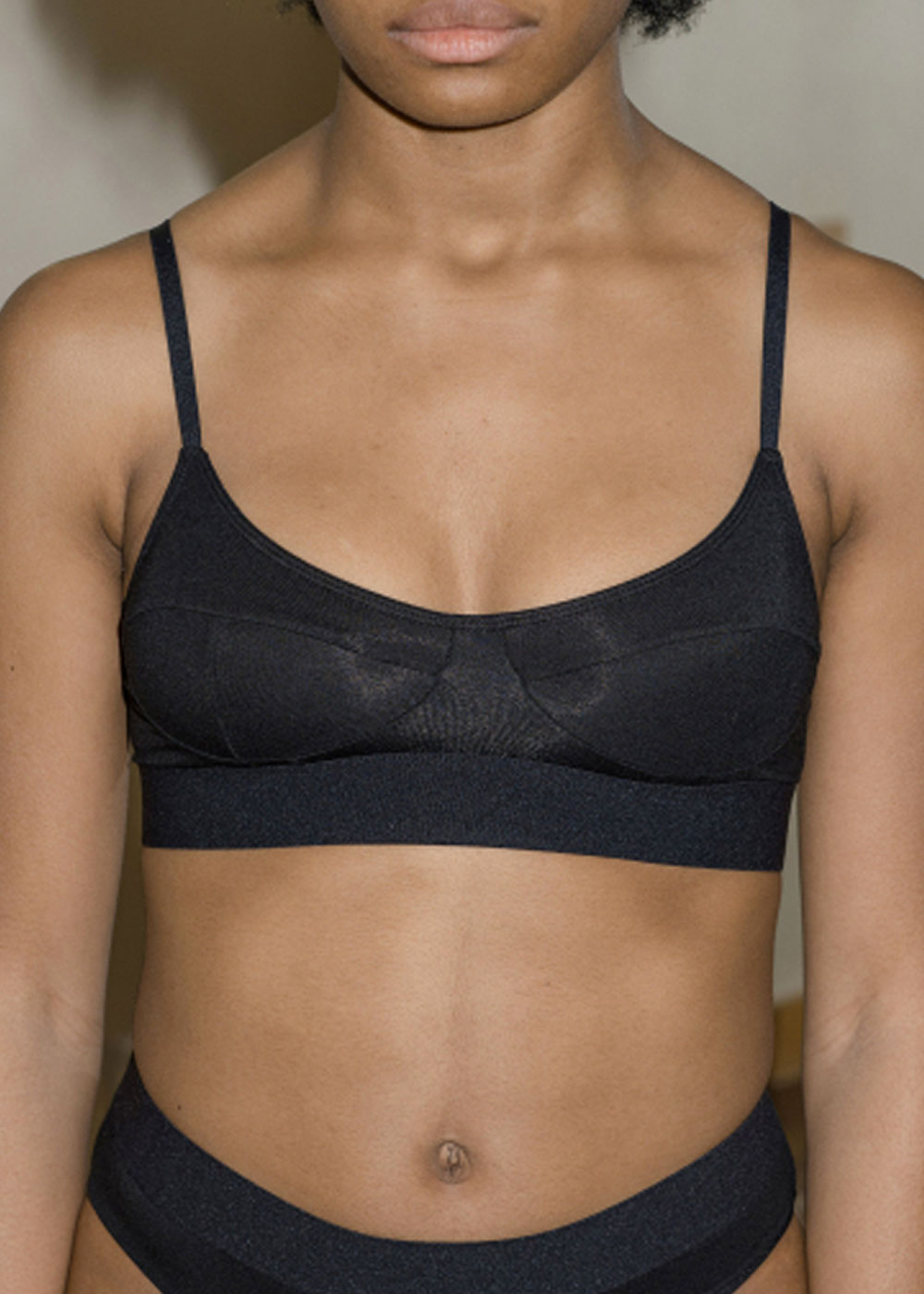 Soft Bra - Black