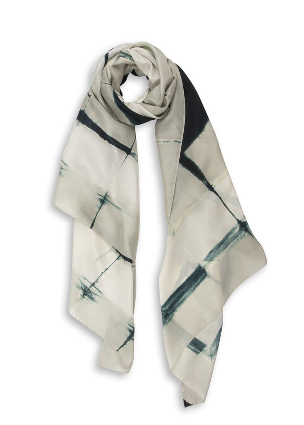 Frame Pictural Silk Scarf