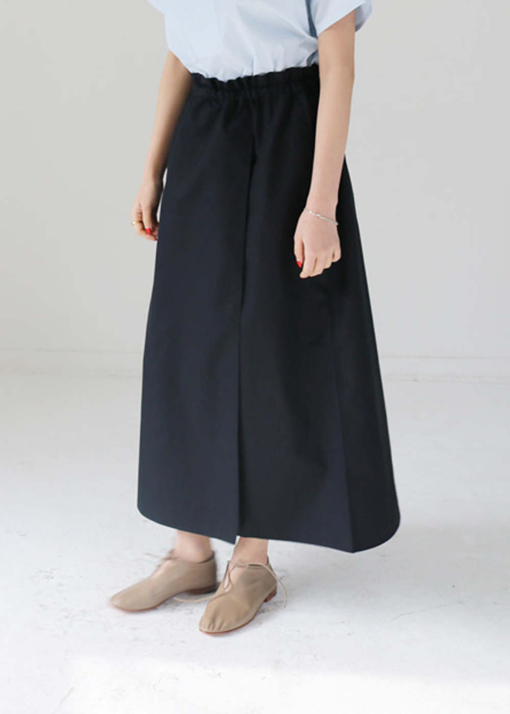 Serra Long Wrap Skirt