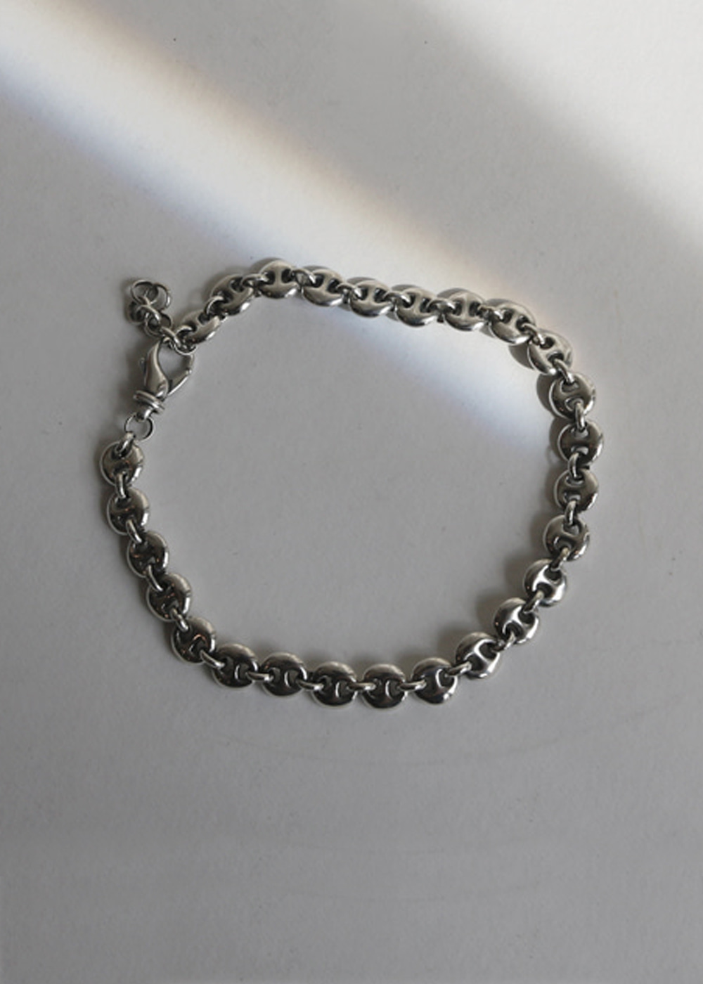 SMALL CIRCLE LINK ANKLET