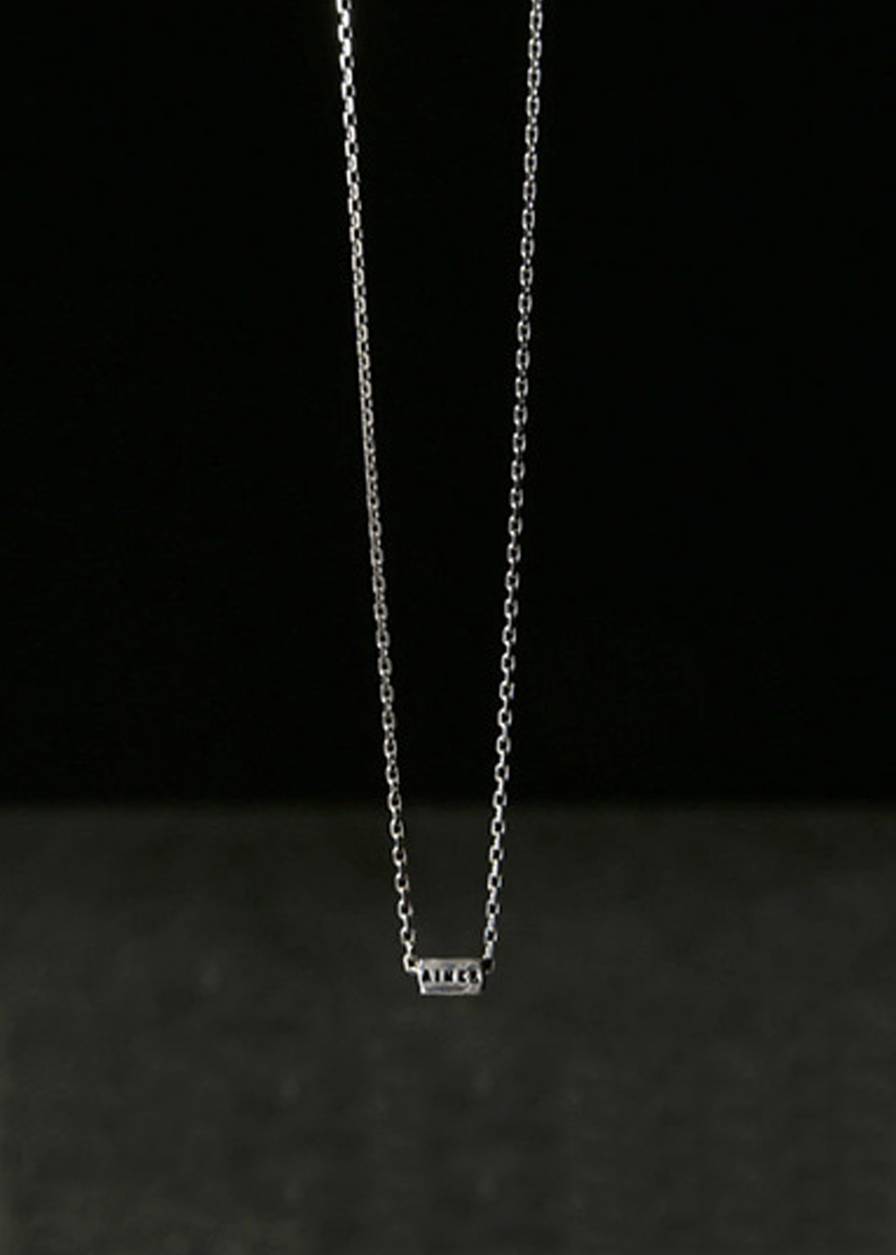 COLLIER AIMER, RÊVER, RIRE ARGENT (N3A)