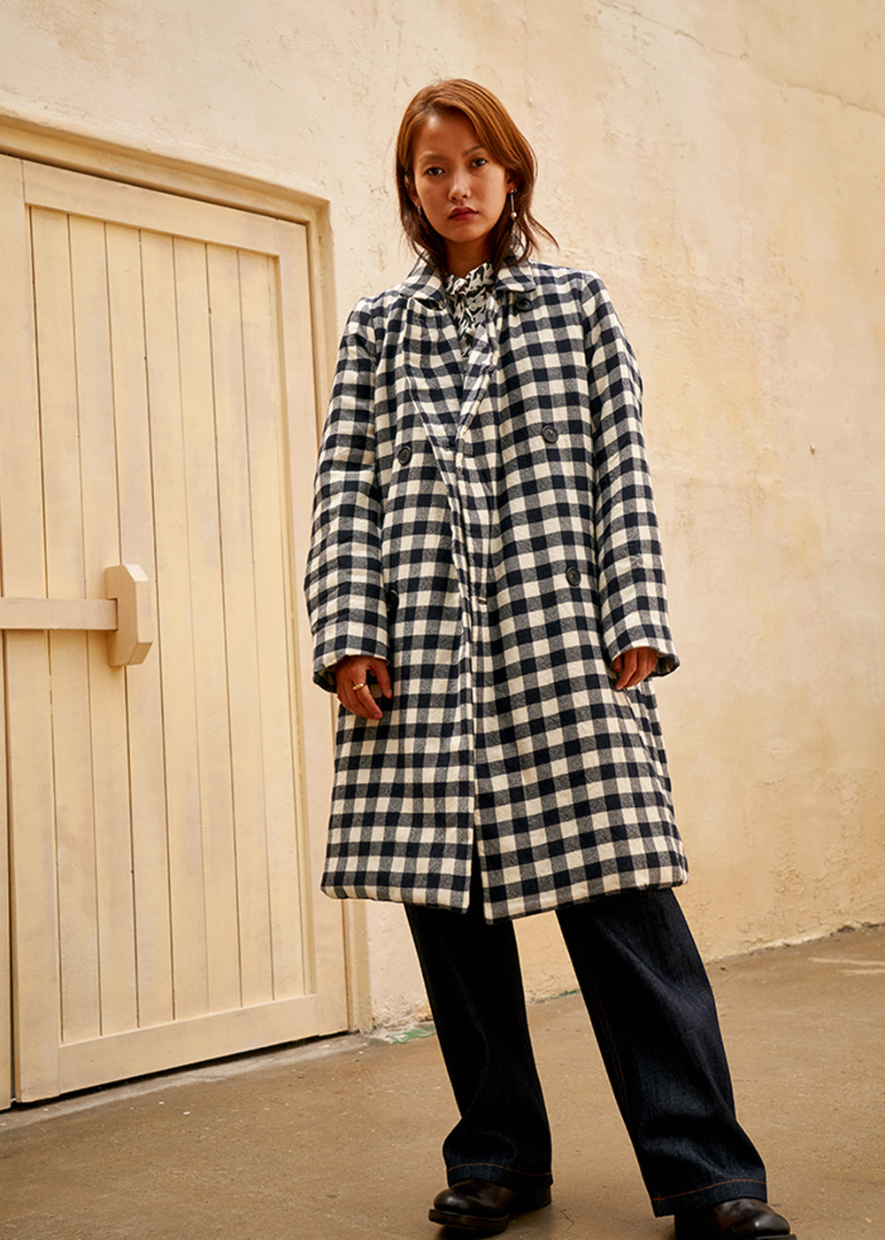 AUBT COAT - CHESS