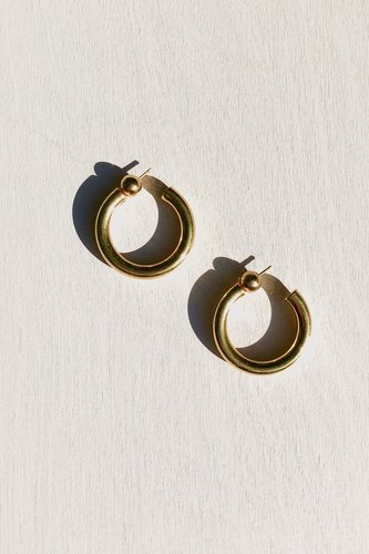 GOLD SMALL EVERYDAY HOOPS