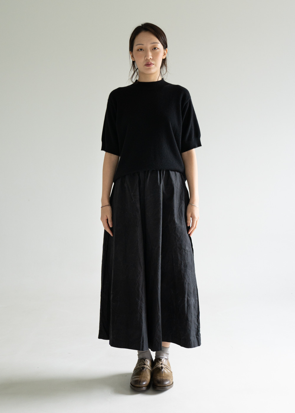 WP WIDE OVERSIZE PANT - black