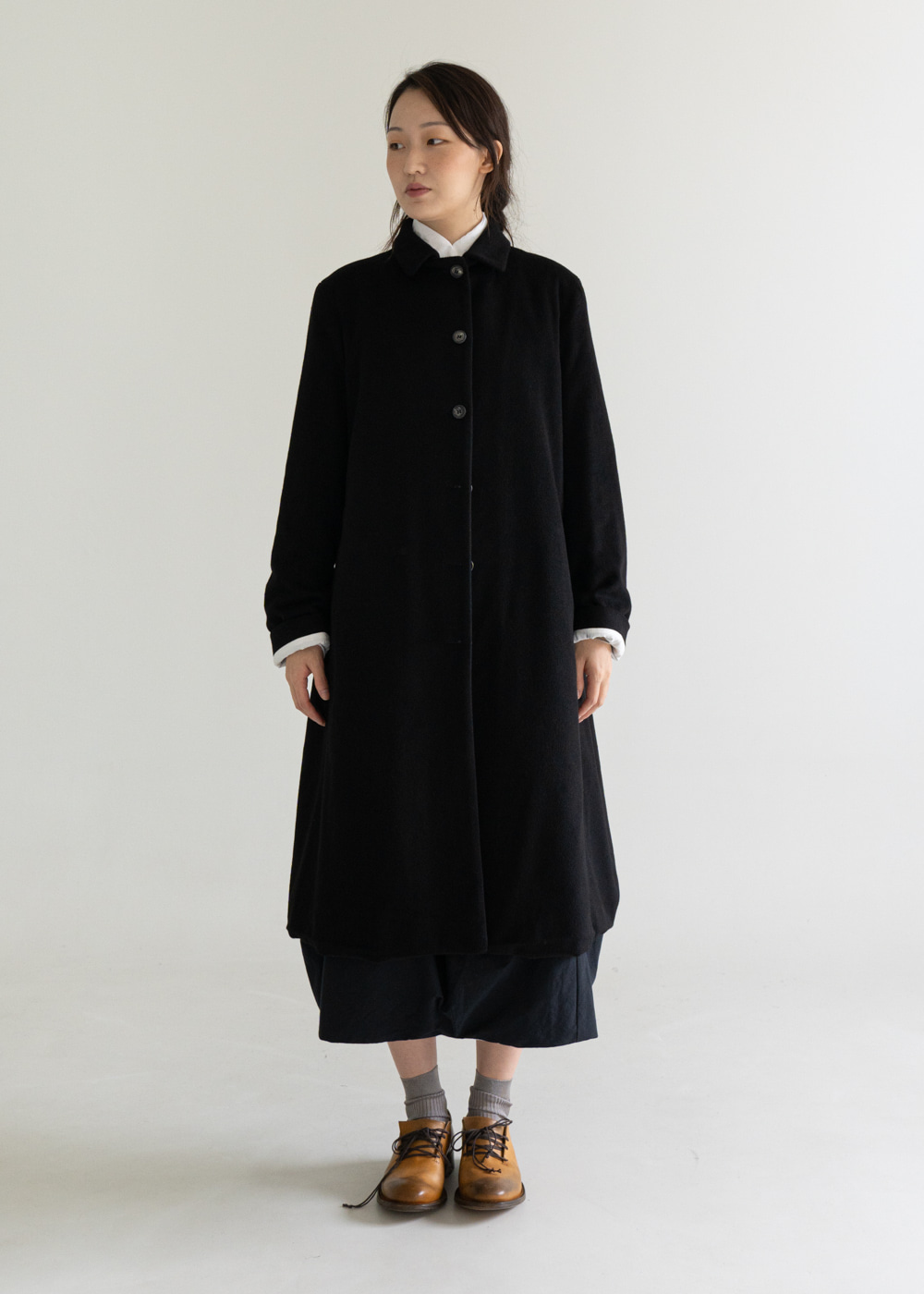 FARMER CASHMERE COAT