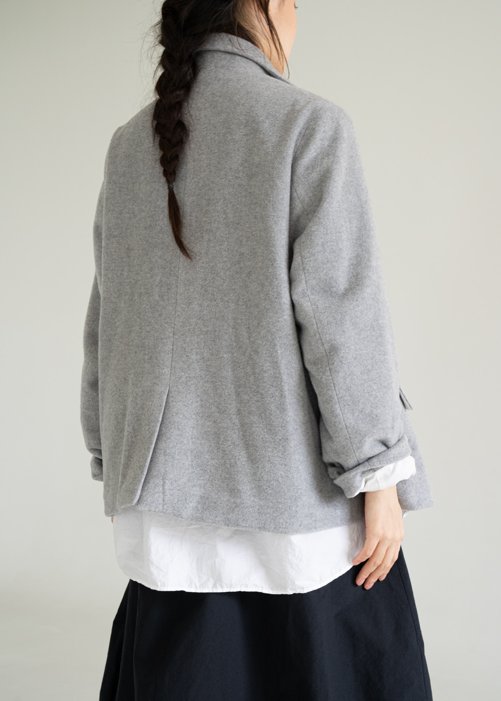 LOOSE FARMER CASHMERE JACKET