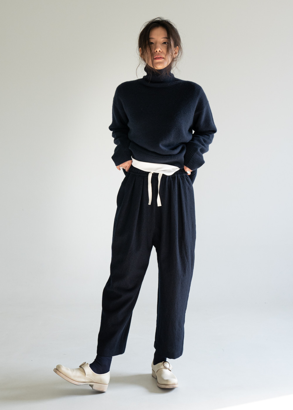 POUSSIN WOOL PANTS