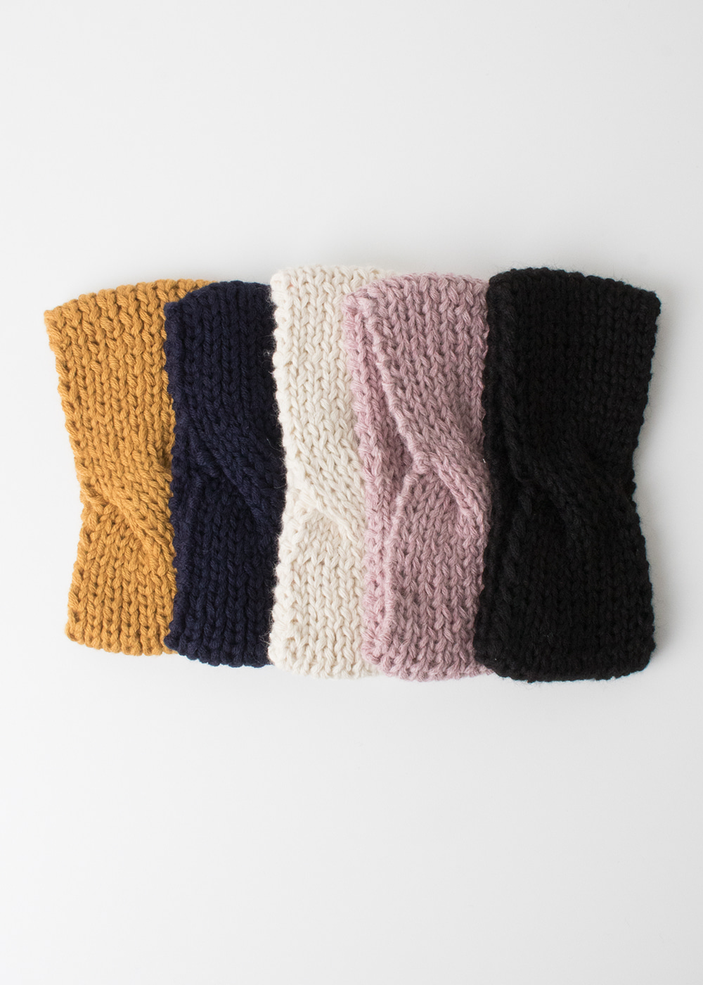 Knitted Headband - 5 colors