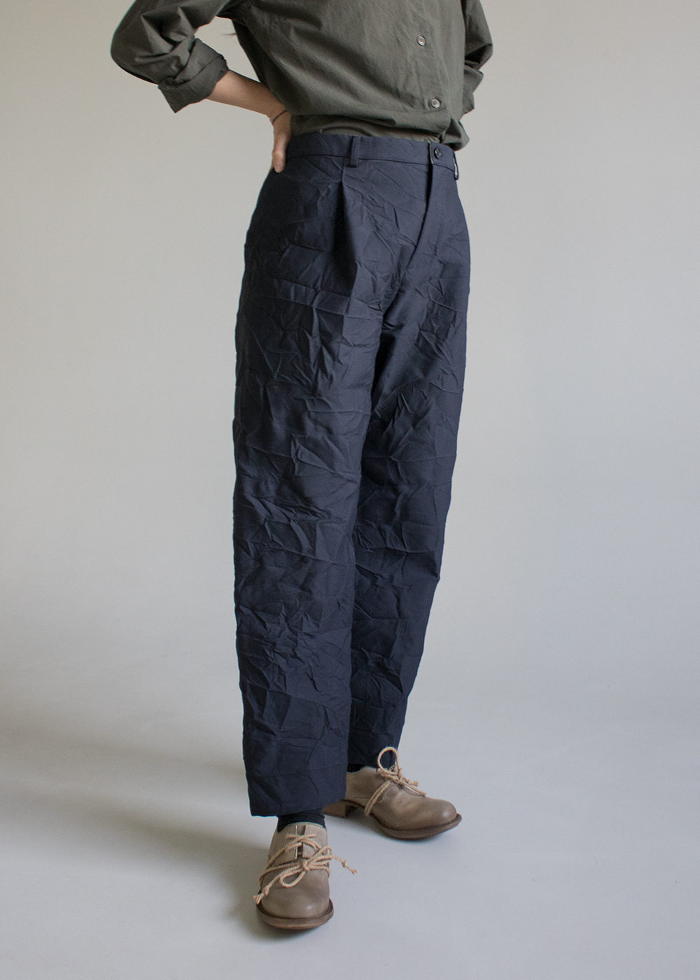PANTS - blue grey