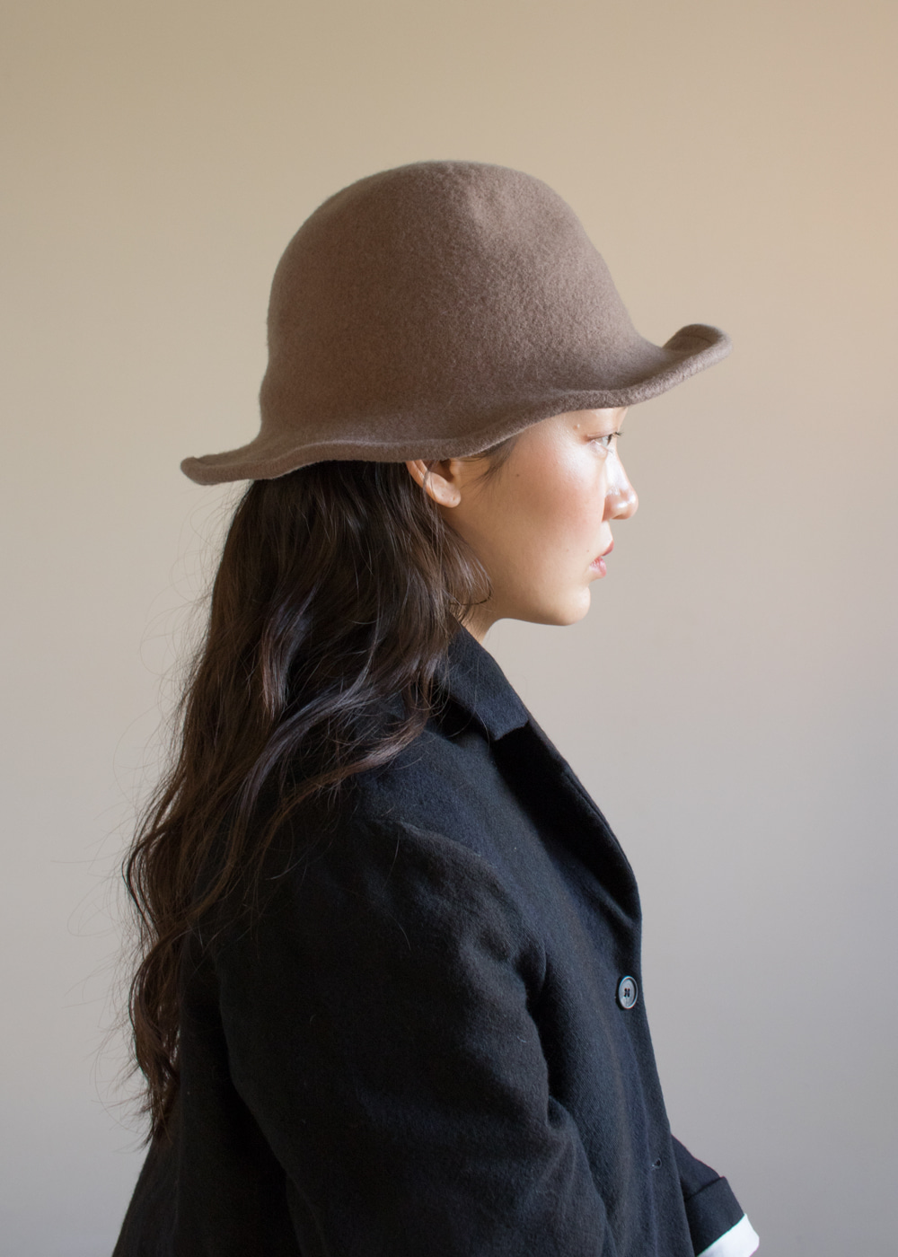 TRAVELLER HAT - grey beige