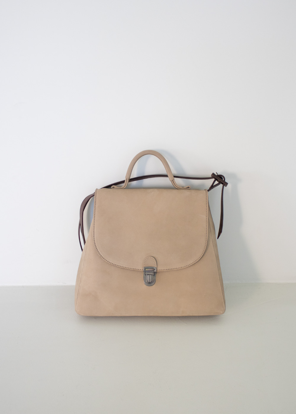 FLAT SMALL LOCK BAG WITH STRAP HANDLE